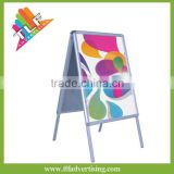 double sided aluminum a board poster stand, double side a board pavement sign                                                                         Quality Choice