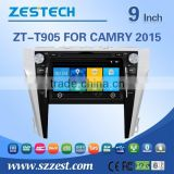 ZESTECH wholesale Chinese 2 din car dvd for TOYOTA CAMRY 2015 with car dvd stereo radio /TV AM/FM