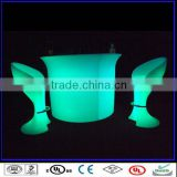 LED illuminated bar furniture bar counter bar chair/hanging bar chairs sale/furniture table chairs