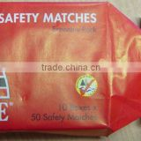waterproof safety match