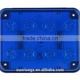 LED Ambulance Emergency Strobe Light /LED Security Emergency Flash Strobe light /Dash light /Grille light (SR-AE-065C-8W-BLUE)