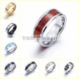 Custom stainless steel men's rings china manufacturer man finger ring