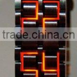 2011 NEW ARRIVAL PROMOTIONAL LED BACKLIGHT WATCH kt9066