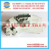 oem# 64119146765 64116927090 Heater Blower Resistor for BMW 1 3 Series X5 X6 E70 E71 E72 E81 E82 E88 E90 E91 E93 2005-