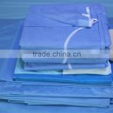 2016 Hot Sale Disposable Sterile Surgical Drape Pack / Set For