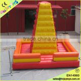 Good quality kids rock climbing inflatable,inflatable rock climbing wall,inflatable mountain climbing
