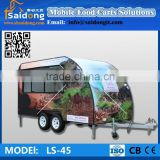 Worldwide Popular Mobile Food Warmer Carts/Mobile Food Trailer Food Cart Cooking Trailer/Folding Food Cart
