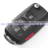 New Coming VW 4+1 button remote key shell