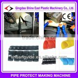 Hydraulic Spiral hose wrap extruder machine / spiral protective sleeve machine / cable wrap sheath machine