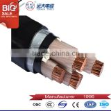 Factory supply armor xlpe insulation PVC jacket cable 4 core power cable (CU/XLPE/SWA/PVC )