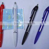Useful Promotional Info Retractable Flyer Ballpoint Pen/Banner pen