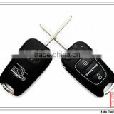 Best quality 3 button Flip Remote Key Shell Cover Case for Hyundai sportage [AS020009]