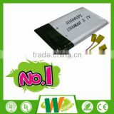 High quality 3.7v 505060 1500mAh rechargeable battery pack for portable dvd player