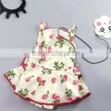 Baby Girls Clothing Print Wholesale Organic Cute Baby Clothes