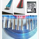 Chrome Silver Moulding Trim DIY Strips Car Roof Interior Exterior Sticker select color and size