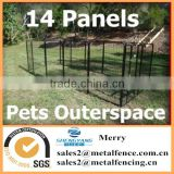 14 panel fully galvanised 1200H exercise pen dog pup run enclosure cage kennel
