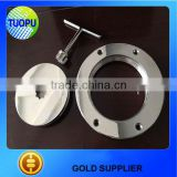 Marine hardware factory outlet duplex stainless steel plate,yacht deck plate,mirroring deck plate in hot selling