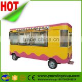 big space kitchen van, infrared food oven, industrial electric carts