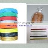 bag packaging double wire tin tie