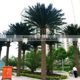 Outdoor indoor artificial coconut palm tree UV proof high quality high simulation fake palm tree