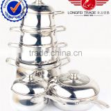 stock promation cooking Stainless Steel Cooking Soup& Milk Pot 16cm~24cm