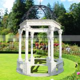 Popular Design Cheap Marble Gazebo with High Quality GAB-009
