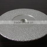 High quality Brazed DIAMOND grinding wheels for porcelian/Vacuum Brazed Diamond G & P Tool