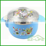 250ML 304 stainless steel baby food warmer feeding bowls