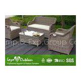 Professional Furniture Factory allpurpose sectional outdoor round wicker sofa garden sofa set garden