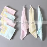 proffessional made 100% cotton handkerchief gauze towel baby washcloth