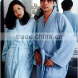 Pakistan Uni-Sex Shawl Collar 100% Cotton Bathrobe