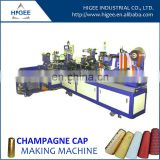 non alcoholic champagne cap machine