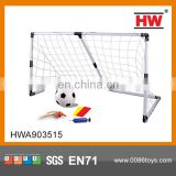 2015 good quality kids plastic football goal post