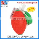 "8.7"" kids sport toy for childre plastic toy pull string ball"