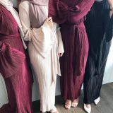 Muslim  abaya Islamic Dress Ramadan Wear Lady Gown