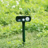 Solar Ultrasonic Motion Sensor Animal Dog Cat Repeller