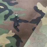 Nylon Cordura Fabric Camouflage Printed Waterproof Pu Coating