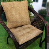 Outdoor Patio Faux Straw Cushions