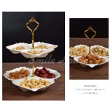 Popular design ceramic parts dishes