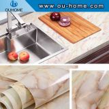 Marble kitchen countertop cabinet furniture renovation sticker