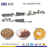 Baked and Fried Breakfast Cereal Corn Flakes Maize Flake Choco Flakes Ball Loop Snacks Food Extruder Production Line Machinery