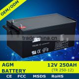 Long Life 12V 500Ah AGM Storge Battery 24v 500ah Battery                                                                         Quality Choice