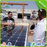 Outdoor recycled solar panel mounting structure