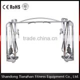 slim gym exercise machines/Cable Jungle TZ-6018/Commercial gym equipment/cable crossover gym equipment