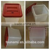 Tsunami Manufacture custom Clear plastic box Acrylic Donation Box ballot box acrylic vote box