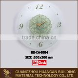 New design wall numbers glass clock