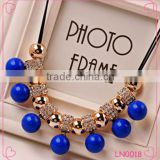2015 fashion ladies chunky necklace charm chain necklace South Korea Fashion Jewelry                                                                         Quality Choice