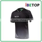 100% Polyester Fabric Material Jersey Soccer / New Design Soccer Jersey / Customized Cheap Soccer Jersey Set
