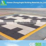 Slip-proof eco-friendly flooring materials water permeable artificial stone molds
