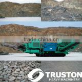 Crawler-type Jaw Crusher Mobile Station/Mobile Stone Concrete Crushing Plant, New Design with Flexible Operations